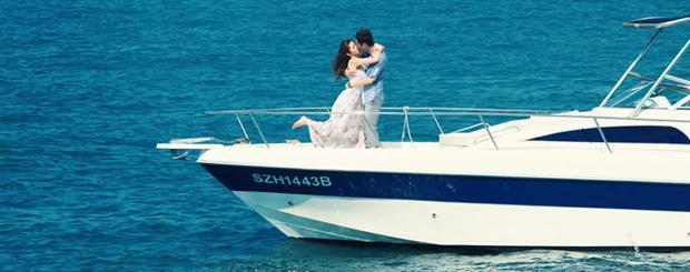 Wedding Anniversary on Yacht in Mumbai