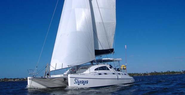 Island Spirit 401 Catamaran on Charter in Mumbai
