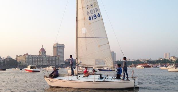 J24 Sailboat Mumbai
