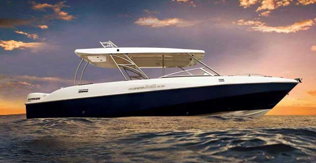 Mahindra Odyssea 33 Speedboat on Charter in Mumbai