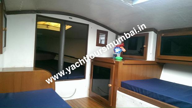 J24 Sailboat Cabin