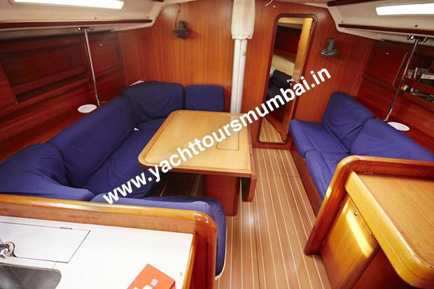 Grand Soleil 45 Yacht Mumbai Saloon