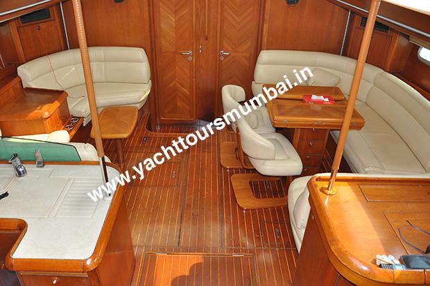 Jeanneau 54 Yacht Mumbai Saloon
