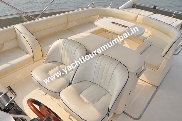 Princess 61 Yacht Mumbai Sky Deck