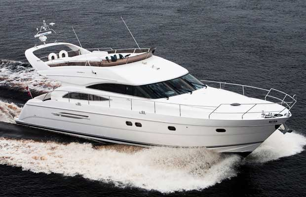 Princess 61 Yacht on Charter in Mumbai