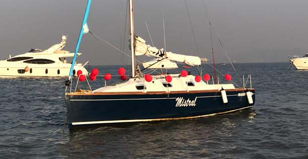 XS 27 Sail Yacht on Charter in Mumbai